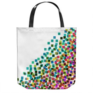Unique Shoulder Bag Tote Bags | Julia Di Sano - Digital Splash 1 | Abstract Pattern