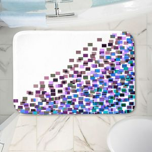 Decorative Bathroom Mats | Julia Di Sano - Digital Splash 5 | Abstract Pattern