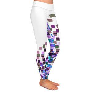 Casual Comfortable Leggings | Julia Di Sano - Digital Splash 5 | Abstract Pattern