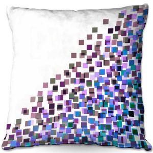 Throw Pillows Decorative Artistic | Julia Di Sano - Digital Splash 5 | Abstract Pattern