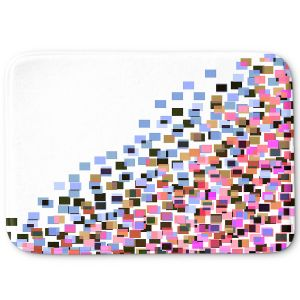 Decorative Bathroom Mats | Julia Di Sano - Digital Splash 7 | Abstract Pattern