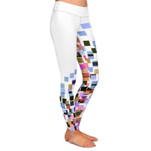 Casual Comfortable Leggings | Julia Di Sano - Digital Splash 7 | Abstract Pattern