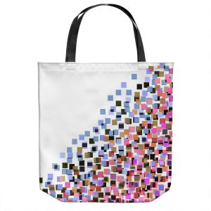 Unique Shoulder Bag Tote Bags | Julia Di Sano - Digital Splash 7 | Abstract Pattern