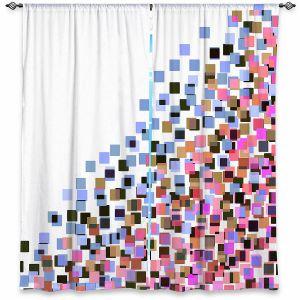 Decorative Window Treatments   Julia Di Sano - Digital Splash 7   Abstract Pattern