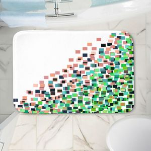 Decorative Bathroom Mats | Julia Di Sano - Digital Splash 8 | Abstract Pattern