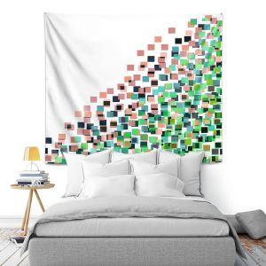 Artistic Wall Tapestry | Julia Di Sano - Digital Splash 8 | Abstract Pattern