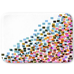 Decorative Bathroom Mats | Julia Di Sano - Digital Splash 9 | Abstract Pattern