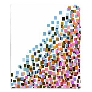 Artistic Sherpa Pile Blankets | Julia Di Sano - Digital Splash 9 | Abstract Pattern