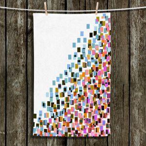 Unique Bathroom Towels | Julia Di Sano - Digital Splash 9 | Abstract Pattern