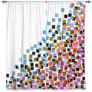 Decorative Window Treatments   Julia Di Sano - Digital Splash 9   Abstract Pattern