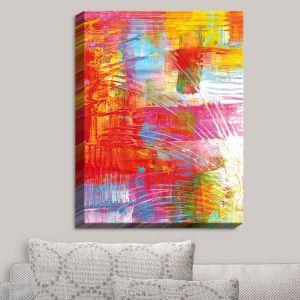 Decorative Canvas Wall Art | Julia Di Sano - Doodle Strokes