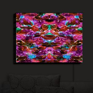 Nightlight Sconce Canvas Light | Julia Di Sano - Enchanted Forest III | Abstract Painting