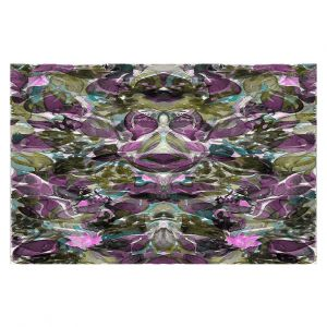 Decorative Area Rug 5 ft x 7 ft from DiaNoche Designs by Julia Di Sano - Enchanted Forest V