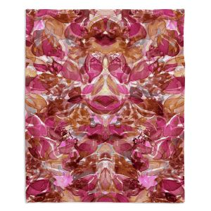 Decorative Fleece Throw Blankets | Julia Di Sano - Enchanted Forest VI