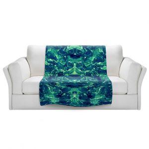 Artistic Sherpa Pile Blankets | Julia Di Sano - Enchanted Forest X