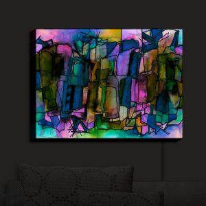Nightlight Sconce Canvas Light   Julia Di Sano - Facets of The Self 2