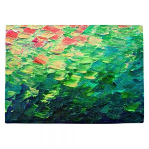 Countertop Place Mats | Julia Di Sano - Fish Scales Rainbow