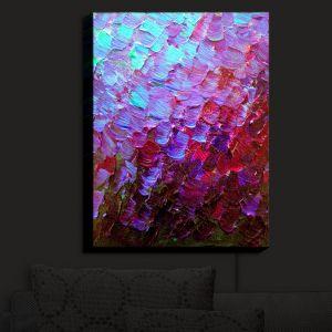 Nightlight Sconce Canvas Light | Julia Di Sano - Fish Scales | Abstract Patterns