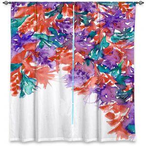 Decorative Window Treatments | Julia Di Sano - Floral Cascade II