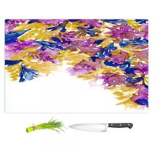 Artistic Kitchen Bar Cutting Boards | Julia Di Sano - Floral Cascade III