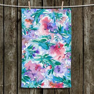 Unique Hanging Tea Towels | Julia Di Sano - Floral Destiny 5 | Flower Pattern