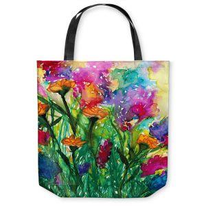 Unique Shoulder Bag Tote Bags | Julia Di Sano - Floral Insurgence I