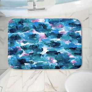 Decorative Bathroom Mats | Julia Di Sano - Floral Spray 11 | flower pattern abstract petal