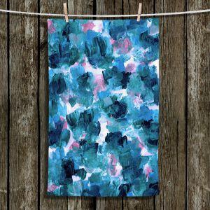Unique Bathroom Towels | Julia Di Sano - Floral Spray 11 | flower pattern abstract petal