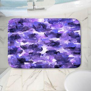Decorative Bathroom Mats | Julia Di Sano - Floral Spray 12 | flower pattern abstract petal