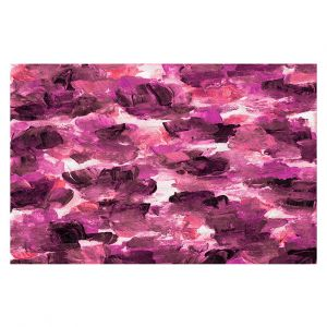 Decorative Floor Covering Mats | Julia Di Sano - Floral Spray 14 | flower pattern abstract petal