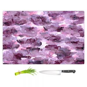 Artistic Kitchen Bar Cutting Boards | Julia Di Sano - Floral Spray 7 | flower pattern abstract petal