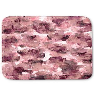 Decorative Bathroom Mats | Julia Di Sano - Floral Spray 8 | flower pattern abstract petal