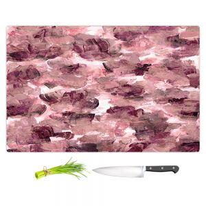 Artistic Kitchen Bar Cutting Boards | Julia Di Sano - Floral Spray 8 | flower pattern abstract petal
