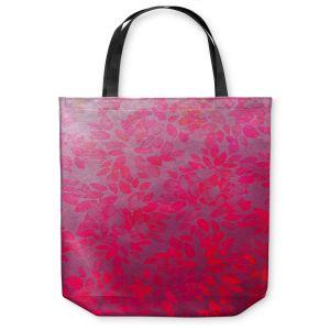 Unique Shoulder Bag Tote Bags | Julia Di Sano - Floral Wash Pink