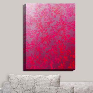Decorative Canvas Wall Art | Julia Di Sano - Floral Wash Pink