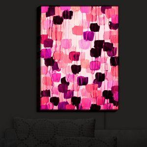 Nightlight Sconce Canvas Light | Julia Di Sano - Flower Brush Pink