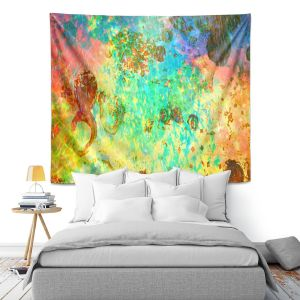 Artistic Wall Tapestry | Julia DiSano Fly Me to the Moon I