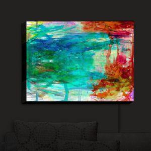 Nightlight Sconce Canvas Light   Julia Di Sano - Free Wheeling   Abstract Painting
