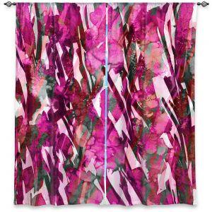 Decorative Window Treatments | Julia Di Sano - Frosty Bouquet Pink