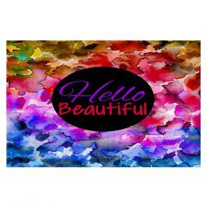 Decorative Floor Coverings | Julia Di Sano Hello Beautiful