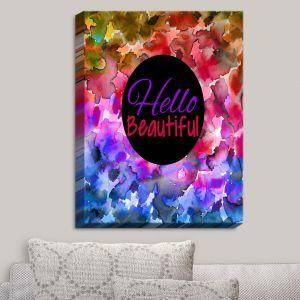 Decorative Canvas Wall Art | Julia Di Sano - Hello Beautiful