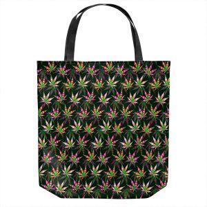 Unique Shoulder Bag Tote Bags   Julia Di Sano - Hippie Flowers 10   Marijuana Pot Smoking Cannabis