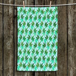 Unique Bathroom Towels | Julia Di Sano - Hippie Flowers 7 | Marijuana Pot Smoking Cannabis