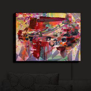 Nightlight Sconce Canvas Light | Julia Di Sano - Hyperbolic Fusion