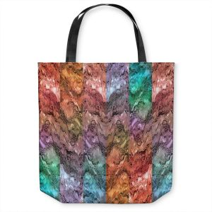 Unique Shoulder Bag Tote Bags | Julia Di Sano - Infinite Surf 1 | abstract pattern