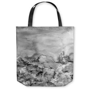 Unique Shoulder Bag Tote Bags | Julia Di Sano Into Eternity Greyscale