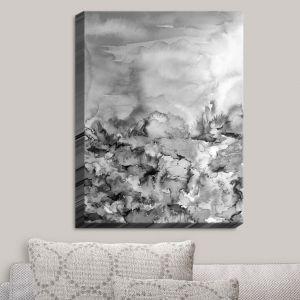 Decorative Canvas Wall Art | Julia Di Sano - Into Eternity Greyscale