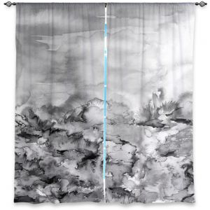 Decorative Window Treatments | Julia Di Sano Into Eternity Greyscale