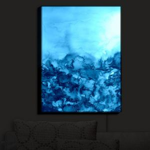 Nightlight Sconce Canvas Light | Julia Di Sano - Into the Eye Turquoise
