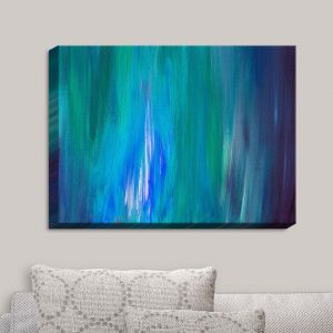 Decorative Canvas Wall Art | Julia Di Sano - Irradiated Blue